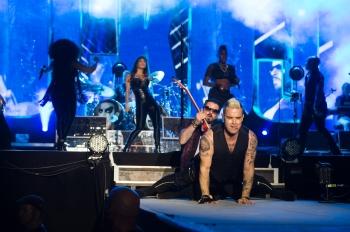 Robbie Williams au PalŽo Festival de Nyon Nyon, le 20.07.2015 Photographe : (C) Lionel Flusin