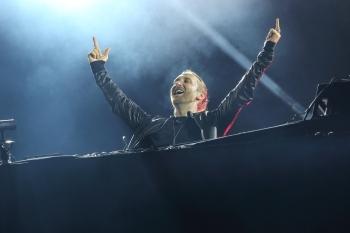 David Guetta, Su. - 26.07.2015, Grande Scène © Paléo / Boris Soula